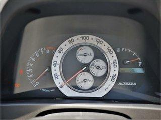 1999 Toyota Altezza SXE10 RS200 Silver 6 Speed Manual Sedan
