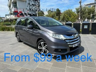 2014 Honda Odyssey RC MY14 VTi-L Grey 7 Speed Constant Variable Wagon.