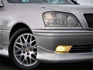 2002 Toyota Crown JZS171 Athlete Silver 4 Speed Automatic Wagon.