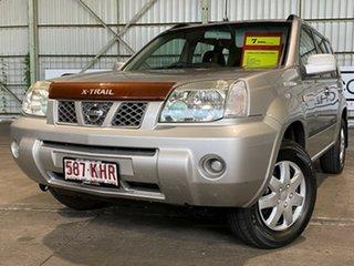 2007 Nissan X-Trail T30 II MY06 ST Silver 4 Speed Automatic Wagon.