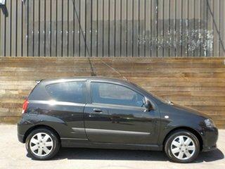 2006 Holden Barina TK MY07 Black 4 Speed Automatic Hatchback.