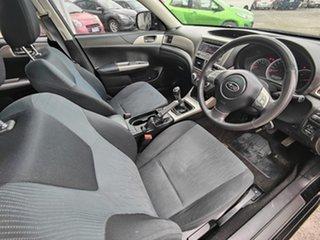 2009 Subaru Impreza G3 MY09 RX AWD Black 5 Speed Manual Hatchback
