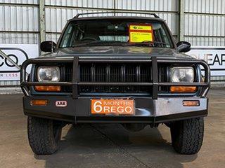 1998 Jeep Cherokee XJ Limited Blue 4 Speed Automatic Wagon