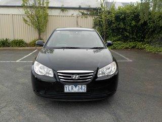 2010 Hyundai Elantra HD Elite Black 4 Speed Automatic Sedan.