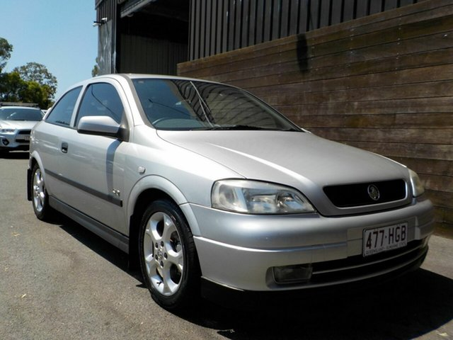 Used Holden Astra TS MY03 SRi Labrador, 2003 Holden Astra TS MY03 SRi Silver 4 Speed Automatic Hatchback