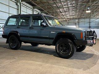 1998 Jeep Cherokee XJ Limited Blue 4 Speed Automatic Wagon.