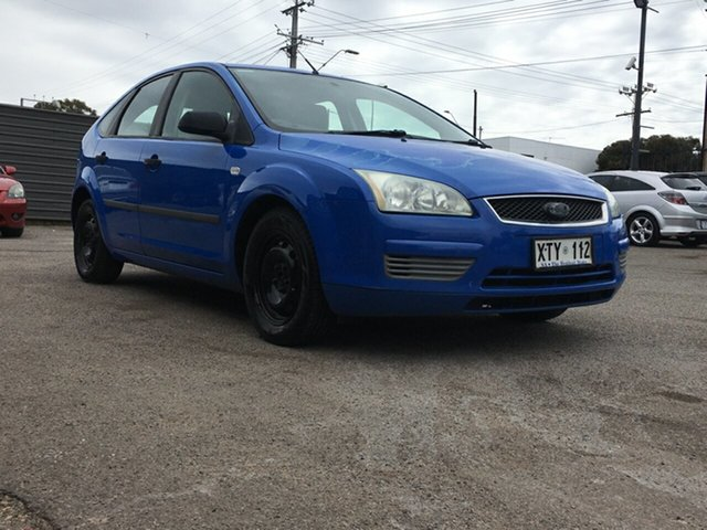 Used Ford Focus LR MY2003 CL Blair Athol, 2005 Ford Focus LR MY2003 CL Blue 4 Speed Automatic Hatchback