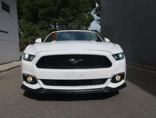2016 Ford Mustang FM GT Fastback SelectShift White 6 Speed Sports Automatic Fastback