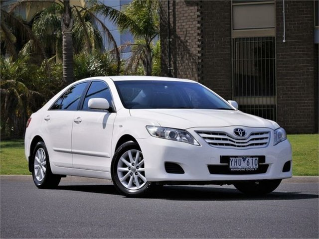 Used Toyota Camry ACV40R Altise Braeside, 2011 Toyota Camry ACV40R Altise White 5 Speed Automatic Sedan