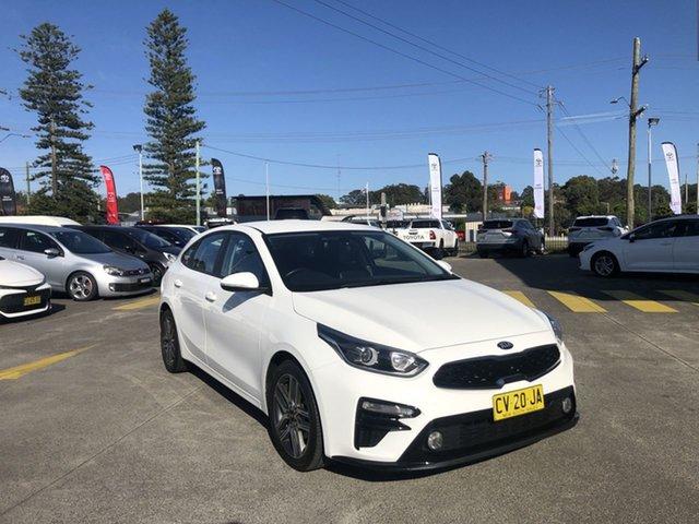 Used Kia Cerato BD MY20 Sport Cardiff, 2019 Kia Cerato BD MY20 Sport White 6 Speed Sports Automatic Hatchback
