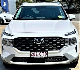 2021 Hyundai Santa Fe Tm.v3 MY21 Active DCT White Cream 8 Speed Sports Automatic Dual Clutch Wagon.