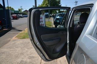 2018 Mitsubishi Triton MQ MY18 GLX (4x4) Silver 5 Speed Automatic Dual Cab Chassis