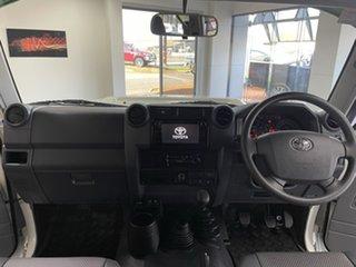 2021 Toyota Landcruiser VDJ76R Workmate White 5 Speed Manual Wagon