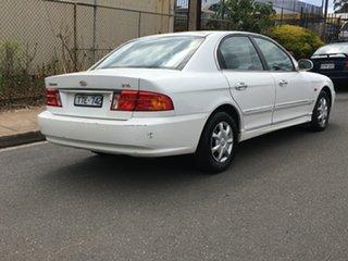 2001 Kia Optima GD White 4 Speed Sports Automatic Sedan.