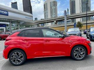 2021 Hyundai Kona Os.v4 MY21 N-Line D-CT AWD Premium Mf1 7 Speed Sports Automatic Dual Clutch Wagon
