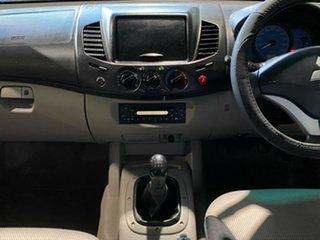 2008 Mitsubishi Triton ML MY08 GLX Double Cab 4x2 Silver 5 Speed Manual Utility
