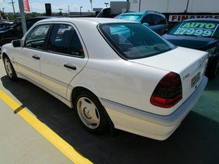 1998 Mercedes-Benz C-Class W202 C200 Classic White 5 Speed Automatic Sedan