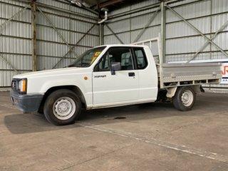 1995 Mitsubishi Triton MJ Club Cab 4x2 White 5 Speed Manual Utility.