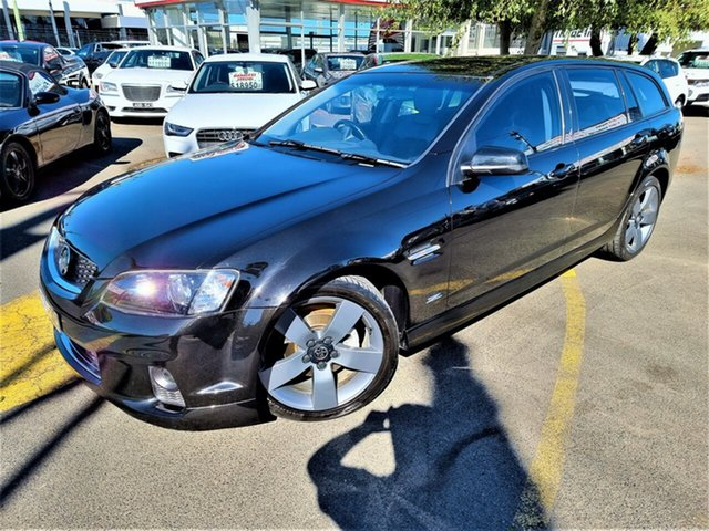 Used Holden Commodore VE II MY12.5 Z Series Sportwagon Seaford, 2012 Holden Commodore VE II MY12.5 Z Series Sportwagon Black 6 Speed Sports Automatic Wagon
