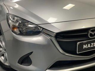 2015 Mazda 2 DJ2HAA Maxx SKYACTIV-Drive Silver 6 Speed Sports Automatic Hatchback.