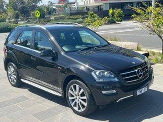 2011 Mercedes-Benz M-Class W164 MY11 ML300 CDI BlueEFFICIENCY Grand Edition Black 7 Speed