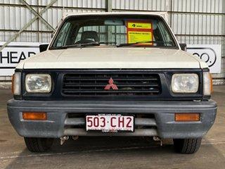 1995 Mitsubishi Triton MJ Club Cab 4x2 White 5 Speed Manual Utility