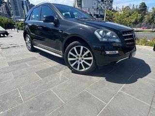 2011 Mercedes-Benz M-Class W164 MY11 ML300 CDI BlueEFFICIENCY Grand Edition Black 7 Speed.