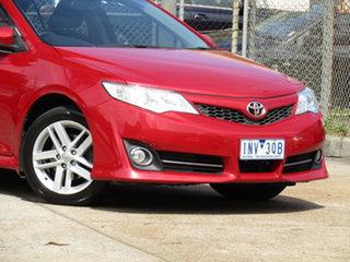 2012 Toyota Camry ASV50R Atara R Active Red 6 Speed Sports Automatic Sedan.