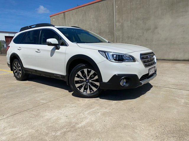 Used Subaru Outback B6A MY15 2.5i CVT AWD Premium Hervey Bay, 2015 Subaru Outback B6A MY15 2.5i CVT AWD Premium White 6 Speed Constant Variable Wagon