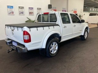 2006 Holden Rodeo RA MY06 LT Crew Cab White 4 Speed Automatic Utility.