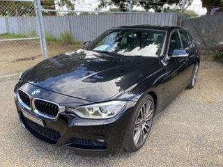 2013 BMW 320d F30 MY1112 320d Black Sapphire 8 Speed Sports Automatic Sedan.