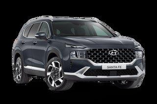 2021 Hyundai Santa Fe Tm.v3 MY21 Elite Lagoon Blue 8 Speed Sports Automatic Wagon
