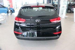 2021 Hyundai i30 PD.V4 MY21 Elite Phantom Black 6 Speed Sports Automatic Hatchback