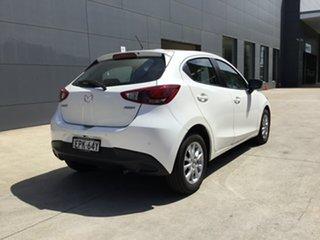 2018 Mazda 2 DJ2HAA Maxx SKYACTIV-Drive Snowflake White 6 Speed Sports Automatic Hatchback.