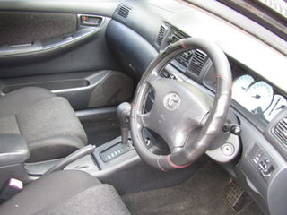 2006 Toyota Corolla ZZE122R 5Y Ascent Alfa Black 4 Speed Automatic Hatchback