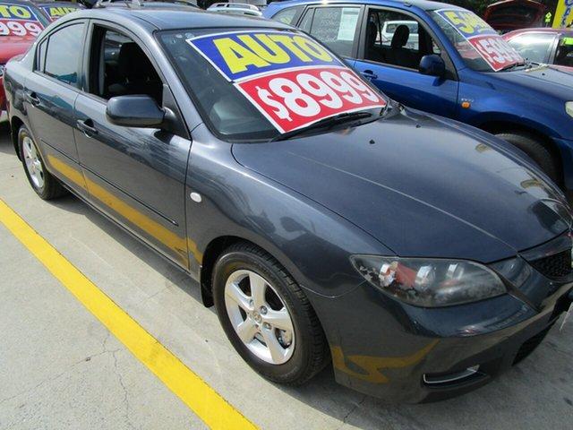 Used Mazda 3 BK10F2 MY08 Neo Sport Springwood, 2008 Mazda 3 BK10F2 MY08 Neo Sport Grey 4 Speed Sports Automatic Sedan