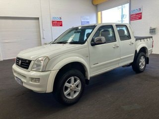 2006 Holden Rodeo RA MY06 LT Crew Cab White 4 Speed Automatic Utility