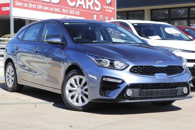 Used Kia Cerato BD MY21 S Toowoomba, 2020 Kia Cerato BD MY21 S Blue 6 Speed Sports Automatic Hatchback
