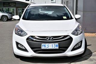 2014 Hyundai i30 GD2 MY14 Trophy White 6 Speed Sports Automatic Hatchback.