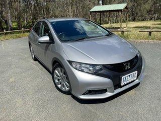 2014 Honda Civic 9th Gen MY14 VTi-S Silver 5 Speed Sports Automatic Hatchback.
