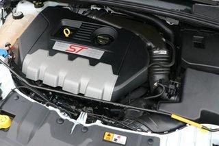 2013 Ford Focus LW MK2 ST White 6 Speed Manual Hatchback