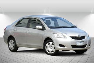 2013 Toyota Yaris NCP93R YRS Adventurine Silver 4 Speed Automatic Sedan.