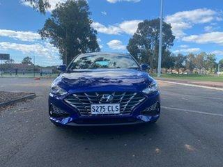 2021 Hyundai i30 PD.V4 MY22 Elite Intense Blue 6 Speed Sports Automatic Hatchback.