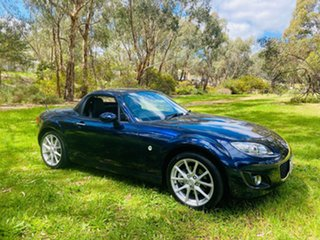 2010 Mazda MX-5 NC30F2 MY09 Roadster Coupe Stormy Blue 6 Speed Sports Automatic Hardtop.