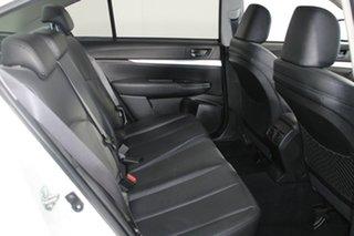 2013 Subaru Liberty B5 MY13 2.5i Lineartronic AWD White 6 Speed Constant Variable Sedan