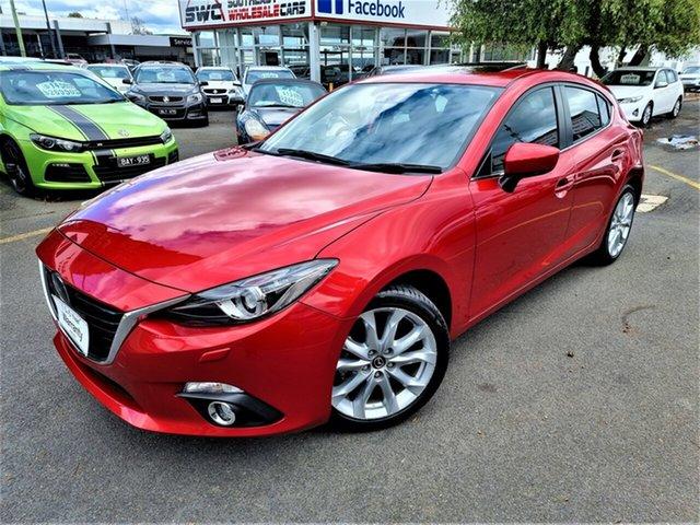 Used Mazda 3 BM5438 SP25 SKYACTIV-Drive Seaford, 2013 Mazda 3 BM5438 SP25 SKYACTIV-Drive Red 6 Speed Sports Automatic Hatchback