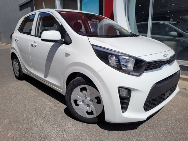 New Kia Picanto JA MY22 S Reynella, 2021 Kia Picanto JA MY22 S White 4 Speed Automatic Hatchback