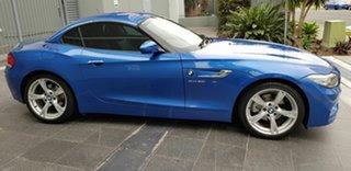 2016 BMW Z4 E89 MY16 sDrive 20i Edt M Sport Blue 8 Speed Automatic Roadster