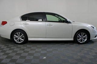 2013 Subaru Liberty B5 MY13 2.5i Lineartronic AWD White 6 Speed Constant Variable Sedan.