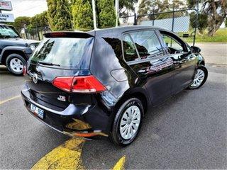 2014 Volkswagen Golf VII MY14 90TSI Black 6 Speed Manual Hatchback.